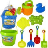 12 Units of 12 PIECE BEACH PLAY SETS. - Beach Toys