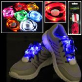 48 Units of FLASHING LED SHOELACES. - Footwear Accessories