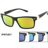 60 Units of Fashion Large Mirror Sunglasses