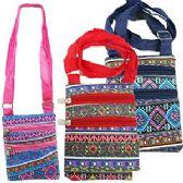 120 Units of COLORFUL GEOMETRIC MESSENGER BAG - Shoulder Bags & Messenger Bags