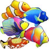 36 Units of PLUSH TROPICAL FISH. - Plush Toys
