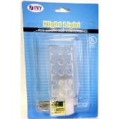 72 Units of Night Light UL Approved - Night Gown & Dorm Shirts