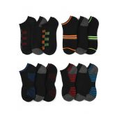 120 Units of Boy's Low Cut Premium Sports Socks Size 9-11 - Boys Ankle Sock