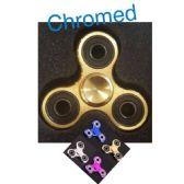 20 Units of Fidget Spinner--Chromed