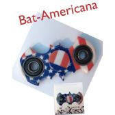 20 Units of Fidget Spinner--BAT Americana