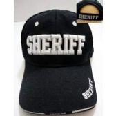 24 Units of Wholesale Sheriff Baseball Cap/ Hat