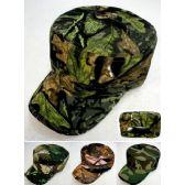 24 Units of Wholesale Camo Cadet Hat