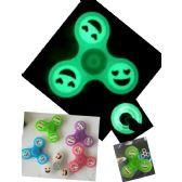 20 Units of Fidget Spinner Glow in Dark with Emojis
