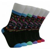 360 Units of Women's Heart Burst Crew Socks - Womens Crew Sock
