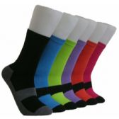 360 Units of Women's Solid Color Crew Socks