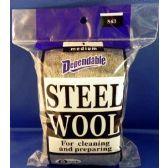 96 Units of Wholesale No.1 Steel Wool Medium