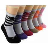 360 Units of Women's Ballet Slipper Crew Socks