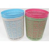 96 Units of Plastic Trash Can - Waste Basket