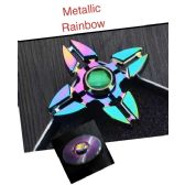 20 Units of Fidget Spinner--Rainbow Anodized