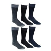 60 Units of Mens Premium Quality Wool Thermal Socks Assorted Colors Size 10-13