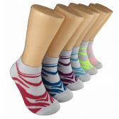 480 Units of Women's Printed Low Cut Ankle Socks