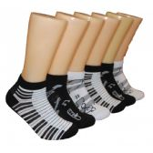 480 Units of Women's Musical Low Cut Ankle Socks