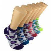 480 Units of Women's Animal Spots Low Cut Ankle Socks