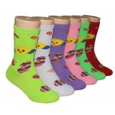 480 Units of Girls Baby Chics Crew Socks