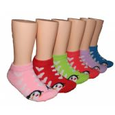 480 Units of Girls Penguin Love Low Cut Ankle Socks