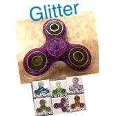 20 Units of Fidget Spinner-Glitter 20pc Display Box