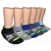 480 Units of Boys Low Cut Ankle Socks