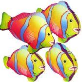 96 Units of MINI PLUSH TROPICAL FISH. - Plush Toys