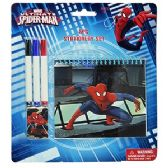 48 Units of 5 PIECE SPIDERMAN STATIONERY SETS. - Coloring Books