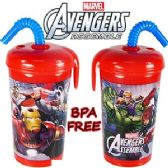 24 Units of MARVEL'S AVENGERS ACRYLIC SPILL PROOF TUMBLERS. - Plastic Drinkware