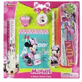 48 Units of 6 PIECE DISNEY'S MINNIE'S BOW-TIQUE PENCIL SETS.