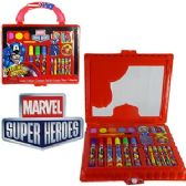 24 Units of 17 PIECE MARVEL HEROES ART SETS.