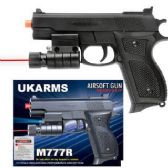 48 Units of AIRSOFT PISTOL WITH LASER. - Toy Weapons