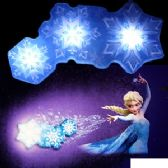 12 Units of DISNEY'S FROZEN SNOWFLAKE LIGHT DANCE - Night Lights