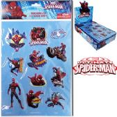 48 Units of SPIDERMAN 3D STICKERS.