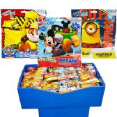 24 Units of ASSORTED LICENSED JIGSAW PUZZLES.