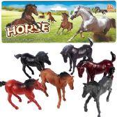 120 Units of 6 PIECE VINYL HORSE SETS - Animals & Reptiles