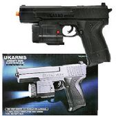 48 Units of AIRSOFT PISTOL W/LASER POINTER AND LIGHT - Toy Weapons