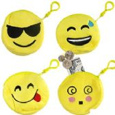 240 Units of PLUSH EMOJI COIN PURSE KEY RINGS
