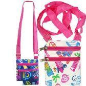 120 Units of HAWAIIAN PRINT MESSENGER BAGS - Shoulder Bags & Messenger Bags