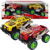 12 Units of 2 PIECE FRICTION POWERED MONSTER TRUCK