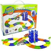 12 Units of 120 PIECE CREATE A ROAD FLEXILE TRACK SETS