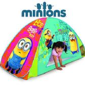 4 Units of MINIONS 2-IN-1 PLAY TENTS. - Novelty Toys
