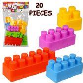 36 Units of PIECE INTERLOCKING BIG BLOCK SETS. - Novelty Toys