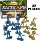 72 Units of 25 PIECE ELITE OPS ARMY SOLDIERS.