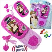 48 Units of TOY CELL PHONES W/ SOUND & LIGHT. - Light Up Toys
