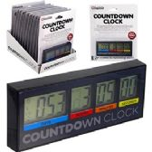24 Units of LCD DIGITAL COUNTDOWN CLOCK.