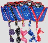 72 Units of Assorted Color Dog Harness