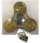 20 Units of Fidget Spinner [Gold TriSpinner/Silver Center]