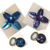 20 Units of Fidget Spinner [Purple/Blue Metal]