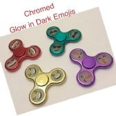 20 Units of Fidget Spinner [Shiny Emoji] *Glow-in Dark Emoji